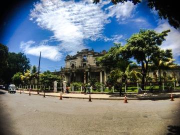 Old Government Building in Santa Ana, El Salvador